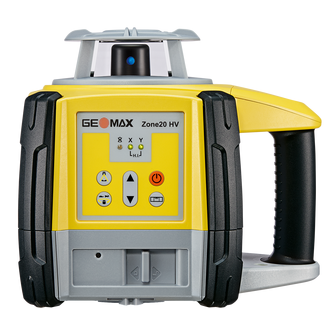 GEOMAX Rotationslaser Zone 20HV basic