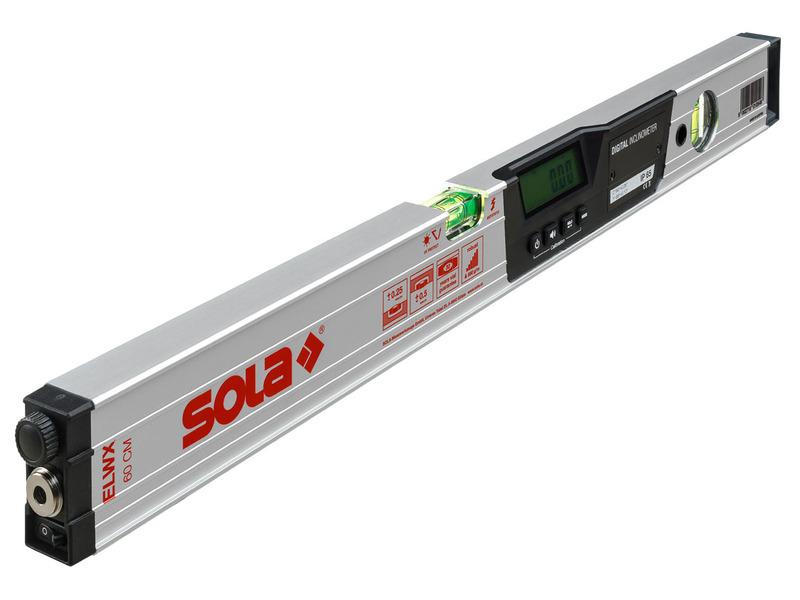 Entfernungsmesser Mit Neigungsmesser : Sola laser wasserwaage lasertronic m mit neigungsmesser