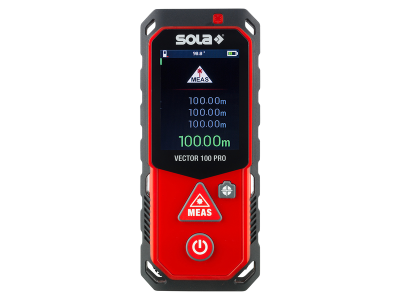 Laser Entfernungsmesser Profi : Sola laser entfernungsmesser vector 100 1a