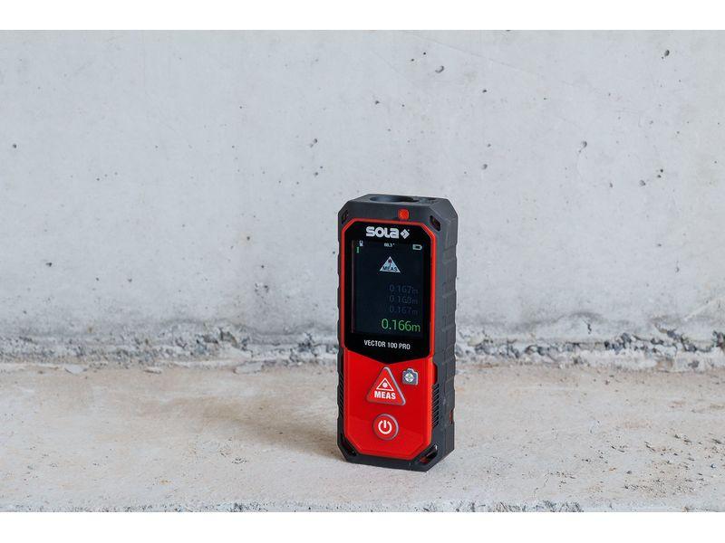 Indupro ag laser entfernungsmesser vector
